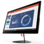 "Lenovo ThinkCentre X1 2.6GHz i7-6600U 6th gen Intel® Core™ i7 23.8"" 1920 x 1080pixels Black All-in-One PC"