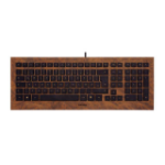 CHERRY JK-0330DE, DEU USB QWERTZ German Wood keyboard