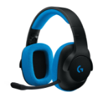Logitech G233 Binaural Head-band Black,Blue