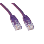 Cables Direct 3m Cat6 3m Cat6 U/UTP (UTP) Violet networking cable