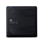 Western Digital My Passport Wireless Pro Externe Festplatte 2000 GB Wi-Fi Schwarz
