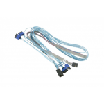 Supermicro CBL-SAST-0699 SATA cable 90 m Blue,Grey