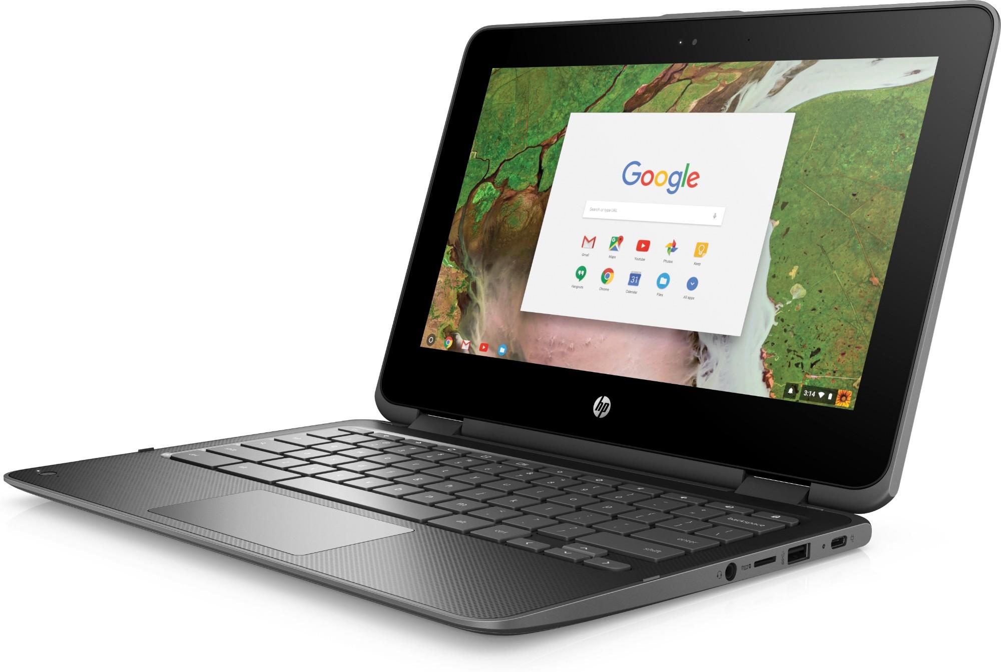 HP Chromebook 11 G1 - 11.6in - N3350 - 4GB RAM - 32GB eMMC - Chrome OS - Qwerty Uk