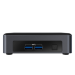 Intel NUC BLKNUC7I7DNK3E PC/workstation barebone i7-8650U 1.90 GHz UCFF Black, Gray BGA 1356