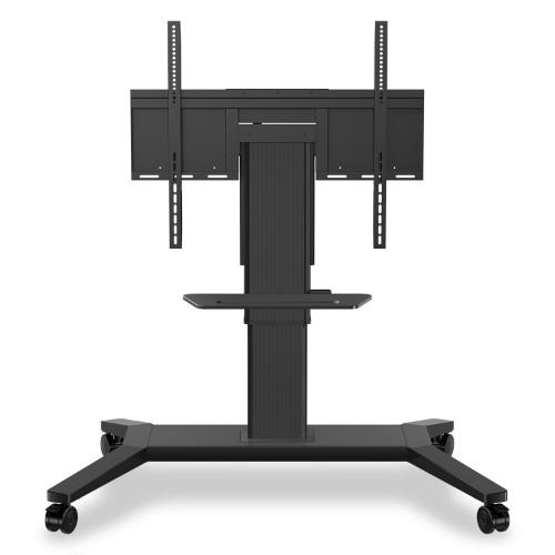 "Viewsonic VB-STND-003 flat panel floorstand Portable flat panel floor stand Black 190.5 cm (75"")"