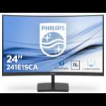 """Philips E Line 241E1SCA/00 computer monitor 59.9 cm (23.6"""") 1920 x 1080 pixels Full HD LCD Black"""