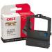 OKI 09002316 cinta para impresora Negro