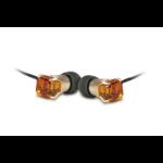 Maroo MA-EP7004 In-ear Binaural Wired Amber,Black mobile headset