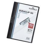 Durable DURACLIP® 60 A4 PVC Black report cover
