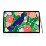 Samsung Galaxy Tab S7+ Wi-Fi 128GB Mystic Silver - S-Pen, 12.4' Display, Qualcomm Snapdragon Processor, 13MP