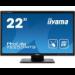 "iiyama ProLite T2253MTS-B1 touch screen monitor 54.6 cm (21.5"") 1920 x 1080 pixels Black Dual-touch Tabletop"