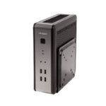 Antec ISK110 VESA-U3 Desktop Zwart, Zilver 90 W
