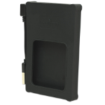 "Manhattan Drive Enclosure, USB 2.0, SATA, 2.5"", Black, Silicone, Windows or Mac, Blister"