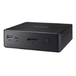 Shuttle XPС slim NC10U PC/workstation barebone 4205U 1.8 GHz Black Intel SoC FCBGA1528