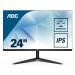 """AOC Basic-line 24B1XH pantalla para PC 60,5 cm (23.8"""") 1920 x 1080 Pixeles Full HD LED Plana Negro"""