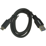PSA Parts USB5031A USB cable 1 m USB C Black