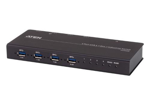 ATEN 4-Port USB 3.1 Gen1 Industrial Switch
