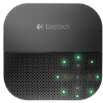 Logitech P710e speakerphone Mobile phone Black USB/Bluetooth
