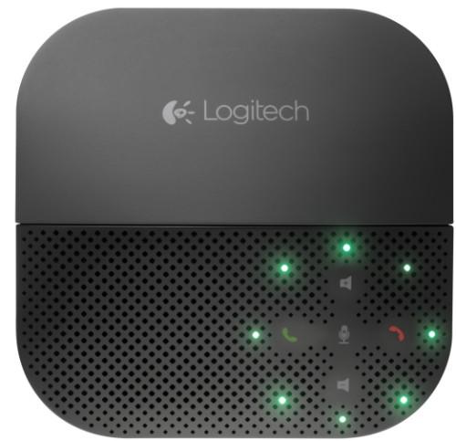 Logitech P710e speakerphone Mobile phone Black USB/Bluetooth