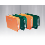 Rexel Crystalfile Classic '330' Lateral File 50mm Orange (25)