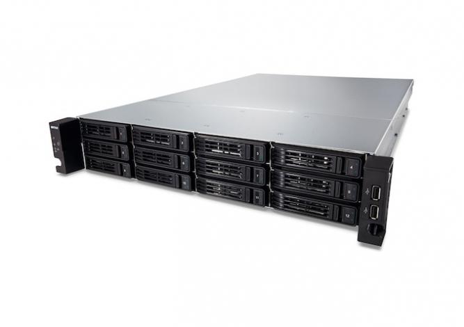Buffalo TeraStation TS7120r Enterprise NAS Rack (2U) Ethernet LAN Black,Silver