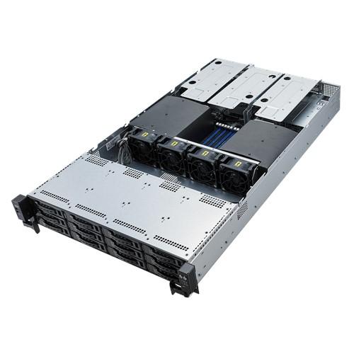 ASUS RS720-E9-RS12-E Intel® C621 LGA 3647 (Socket P) Rack (2U) Black, Silver