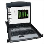 """Tripp Lite B020-U08-19KTAA rack console 19"""" 1280 x 1024 pixels Black"""