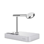 Belkin F8J183VFSLV mobile device dock station Smartphone Chrome, Silver
