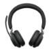 Jabra Evolve2 65, UC Stereo Auriculares Diadema USB Tipo C Bluetooth Negro