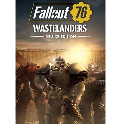 Nexway Fallout 76: Wastelanders Deluxe Edition vídeo juego PC/Mac De lujo Inglés, Español