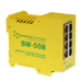 Brainboxes SW-508 Unmanaged Fast Ethernet (10/100) Yellow network switch