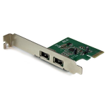 StarTech.com 2 Port 1394a PCI Express FireWire Card - PCIe FireWire Adapter interface cards/adapter