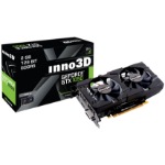 Inno3D N1050-1DDV-E5CM graphics card GeForce GTX 1050 2 GB GDDR5