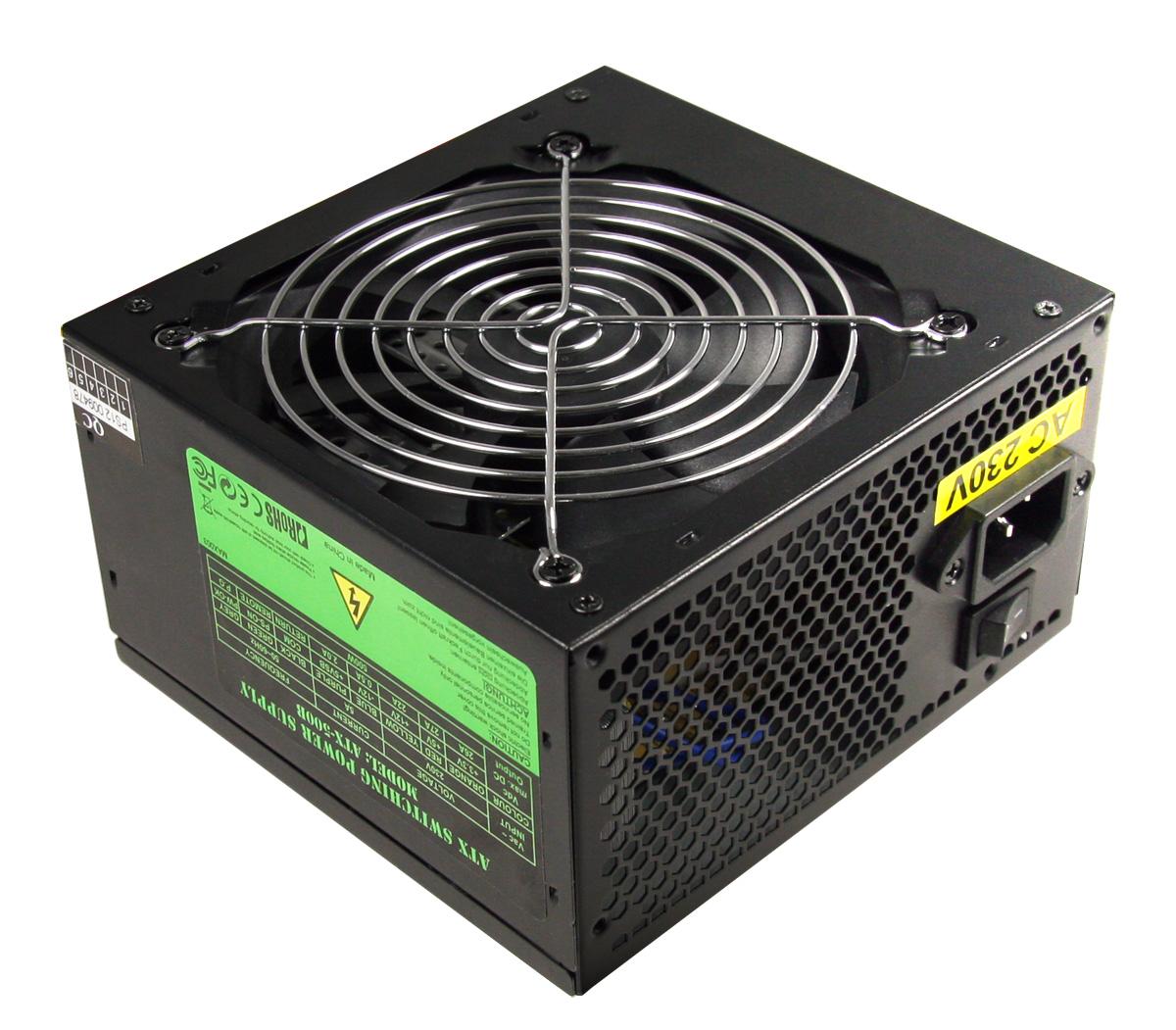 CIT 500W Builder Black 12cm PSU White Box PFC CE 3 x SATA