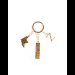 DIFUZED Zelda Keychain Gold