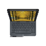 Logitech Universal Folio Bluetooth QWERTY UK English Black mobile device keyboard