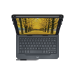 Logitech Universal Folio teclado para móvil Black QWERTY UK English Bluetooth