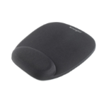 Kensington Foam Mousepad with Integral Wrist Rest Black