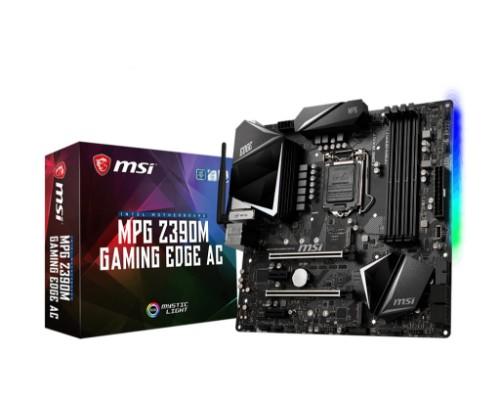 MSI MPG Z390M GAMING EDGE AC motherboard LGA 1151 (Socket H4) Micro ATX Intel Z390
