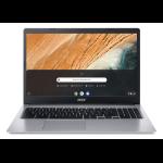 "Acer Chromebook CB315-3HT-C3J0 Silver 15.6"" 1920 x 1080 pixels Touchscreen Intel® Celeron® N 4 GB LPDDR4-SDRAM 64 GB Flash Wi-Fi 5 (802.11ac) Chrome OS"