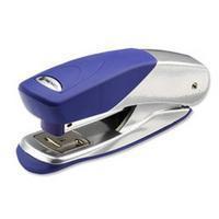 Rexel Matador Half Strip Stapler Silver/Blue