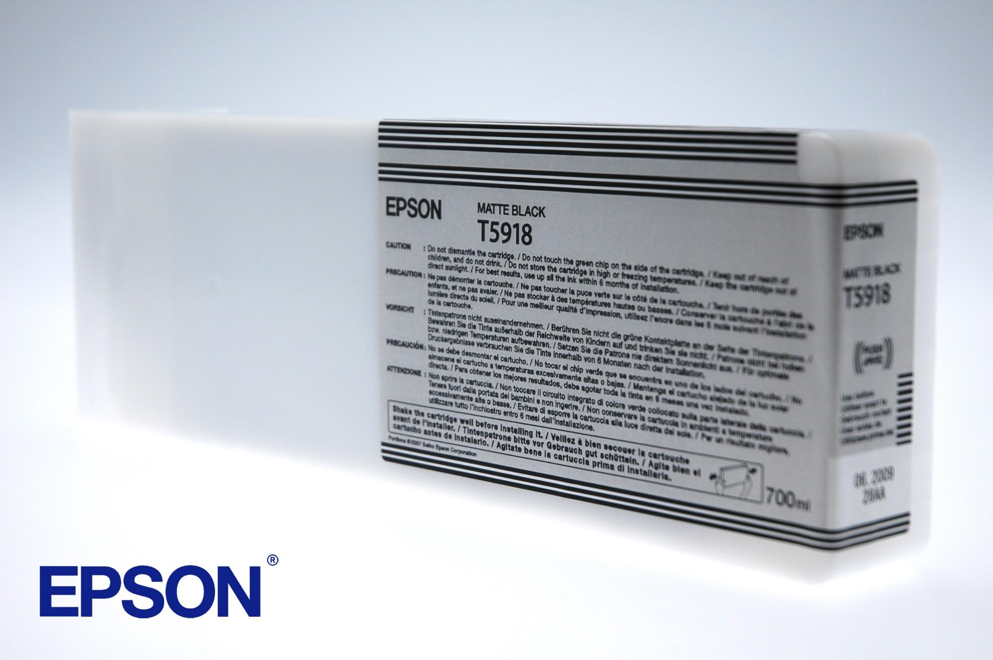 Epson Cartucho T591800 negro mate