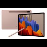 "Samsung Galaxy Tab S7 SM-T870N 128 GB 27.9 cm (11"") Qualcomm Snapdragon 6 GB Wi-Fi 6 (802.11ax) Android 10 Bronze"