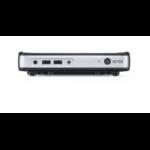 Dell Wyse 5030 PCoIP TERA2321 Black, Silver Zero PCoIP 480 g