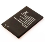 MicroSpareparts Mobile MSPP71809 mobile phone spare part Battery Black
