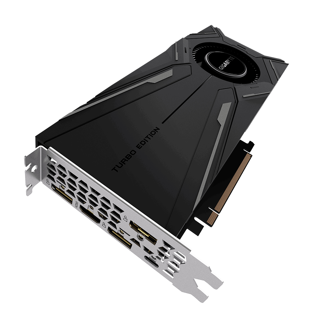 Gigabyte GV-N208TTURBO OC-11GC videokaart GeForce RTX 2080 Ti 11 GB GDDR6