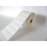 NAKAGAWA label roll, thermal paper, removeable, 76x25,4mm