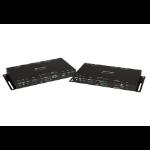 Crestron HD-EXT-USB-2000-C AV extender AV transmitter & receiver Black
