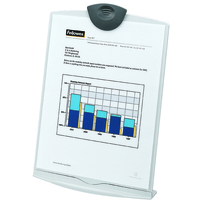 Fellowes 20000 Plastic Charcoal,Platinum document holder
