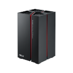 ASUS RP-AC68U wireless router Dual-band (2.4 GHz / 5 GHz) Gigabit Ethernet Black,Red